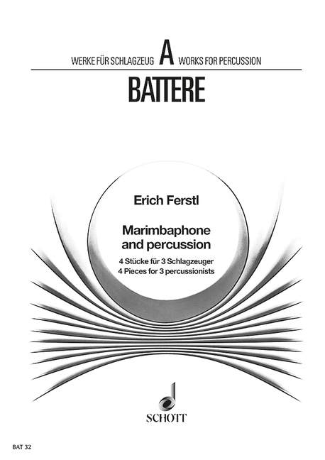 Belle Marimbaphone Et Percussion Ferstl, Erich Score And Parts 3 Percussion 979000100-afficher Le Titre D'origine